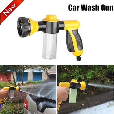 Multifunctional Foam Car Wash Spray Gun Cleaning Pipe Lance High Pressure AU