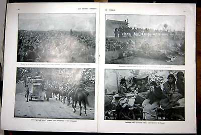 Vintage Print Sombre Hours Italy Troops Ww1 Diaz Allies French 1927 154AE256