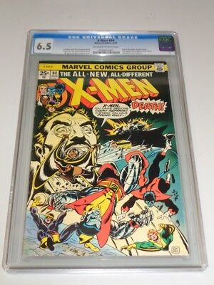 X-Men Uncanny #94 Cgc 6.5 Marvel Off White To White Pages August 1975 (Sa)