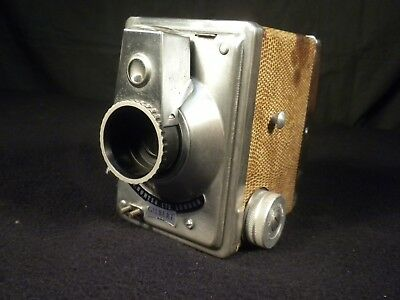 Unique Snake Skin And Stainless Steel Box Camera
