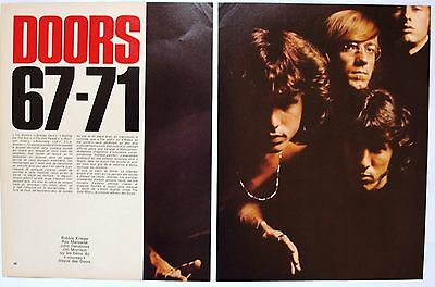 The Doors  Jim Morrison   Ray Manzarek  Clipping / Cutting / Miniposter / Pin Up