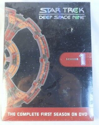 Star Trek Deep Space 9 1st Season DVD NEW NIB Sealed Fast Ship