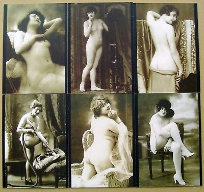 Vintage Erotica Postcards Series 1 Trading Cards - 36 Card Set by Cult-Stuff