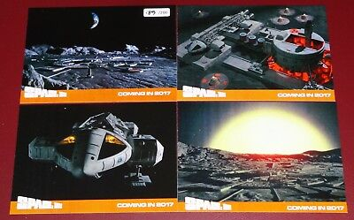 New Space 1999 Rare (200) Set of 4 Preview Cards by Unstoppable Cards #189/200