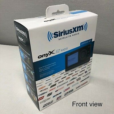 SiriusXM Onyx EZ Satellite Radio with Vehicle Kit included ​