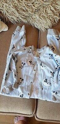 2 Boys H & M bodysuits for bedtime size 18/24 months