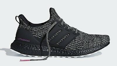 aed0d01e9 Adidas Running Ultra Boost 4.0 Black Pink Breast Cancer Awareness Men BCA  BC0247