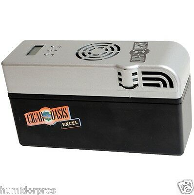 CIGAR OASIS Excel Humidor Humidifier with User Calibration