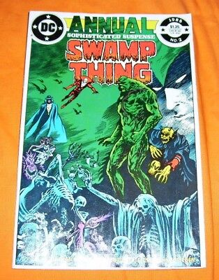 SWAMP THING Annual #2 Alan Moore VF 8.0