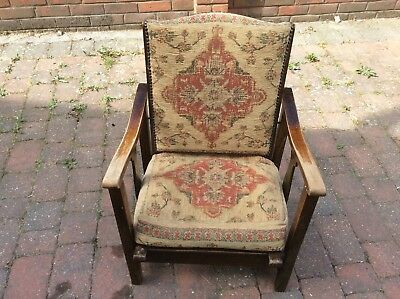 childs antique tilting chair in good condition