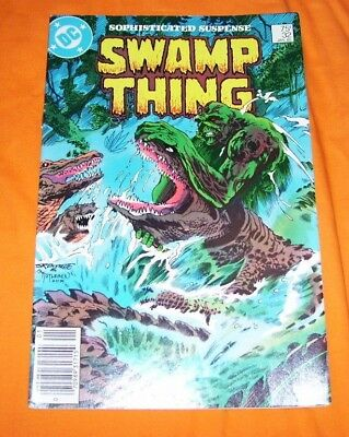 SWAMP THING #32 Alan Moore FN 6.0