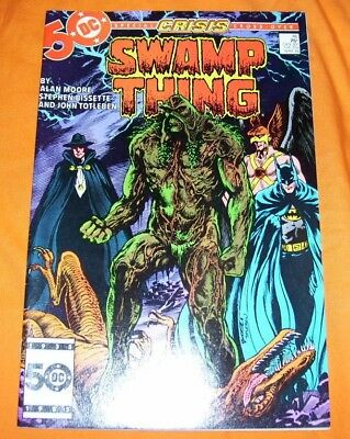 SWAMP THING #46 Alan Moore VF- 7.5
