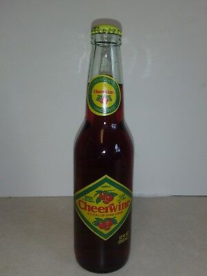 Cheerwine, Long neck bottle, 12 oz.  Vintage, 70s early 80s ***UNOPENED***