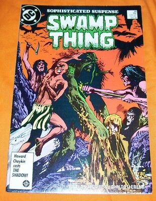 SWAMP THING #48 Alan Moore FN/VF 7.0
