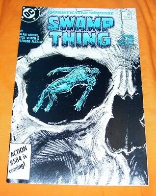 SWAMP THING #56 Alan Moore NM- 9.2
