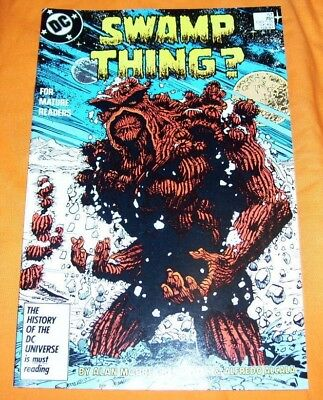 SWAMP THING #57 Alan Moore NM- 9.2