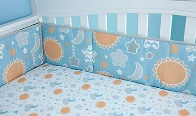 Little Bedding by NoJo Celestial Baby 4 Piece Traditional Padded Crib Bumper