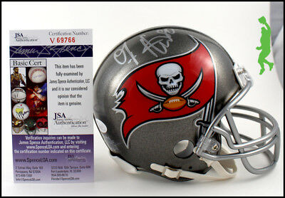 Oj Howard Autographed Signed Buccaneers Bucs Mini Helmet Football Jsa Coa