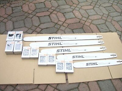 STIHL 36in,32in,28in,25in,20in. two chain for each all 33 rsf .050 3/8