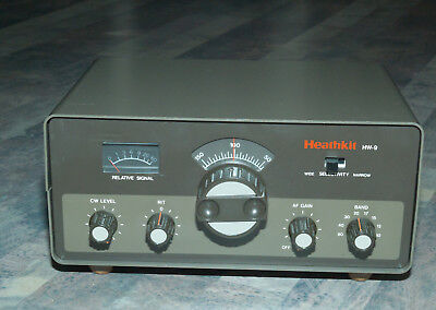Heathkit HW-9 Transceiver with WARC bands