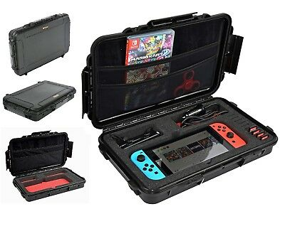 Waterproof hard Carrying Case for Nintendo Switch Bag Protector Cover Hard Shell