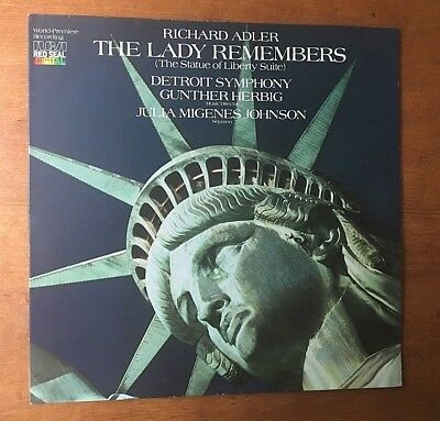 Richard Adler The Lady Remembers- The Statue Of Liberty Suite- Promo Digital LP