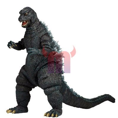 "NECA Godzilla 1985 Classic Movie 6"" Action Figure Kaiju 12"" Head Tail Monster"