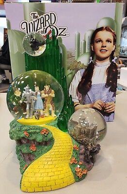 Westland The Wizard Of Oz Musical Snow Globe We're Off To See The Wizard RARE!!