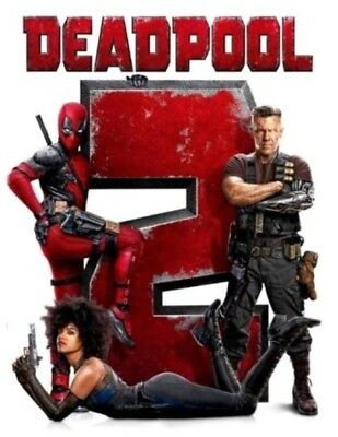 Deadpool 2 (DVD,2018) *DISC ONLY* *NEW* *Action, Comedy, S/Fiction* Now Shipping