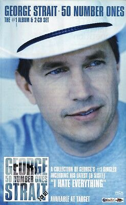 "George Strait--2004 ""50 Number Ones"" Advertisement"