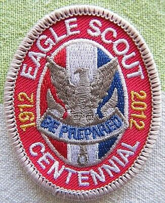 Eagle Scout Award Badge - Special 2012 Centennial - Boy Scouts of America BSA