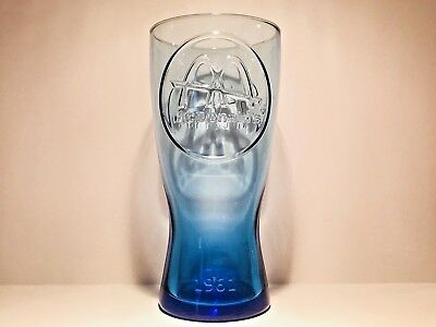 1961 Vintage McDonald's Blue Collector Glass  - FREE SHIPPING -