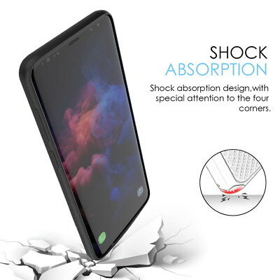 Slim Extended Battery Bank Charger Charging Case for Samsung Galaxy S9/S9 Plus