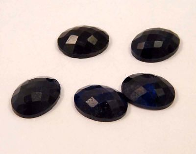 Mind-Blowing Natural-Dyed-Faceted-Blue-Sapphire-Gemstone 55 CT 14x10  NG18275
