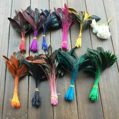 10-100pcs Beautiful 6-8 inches/15-20 cm Natural pheasant feathers decoration