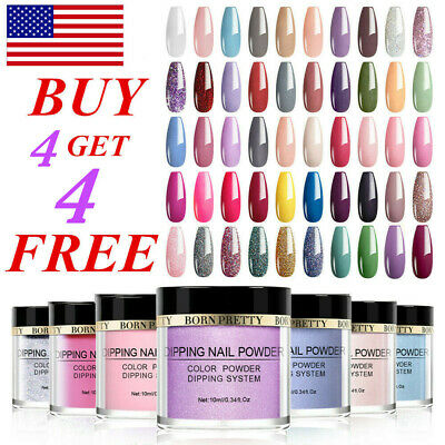 BORN PRETTY Acrylic Dipping Powder System Dip Liquid Nail Art Polish Starter Kit