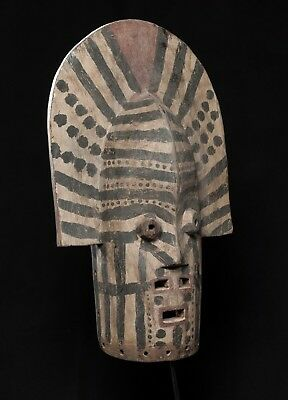 Tetela Mwadi Mask, D.R. Congo, Central African Tribal Arts