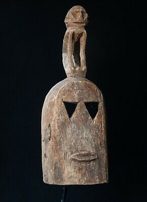 Dogon Omono White Monkey Mask, Burkina Faso, African Tribal Sculpture