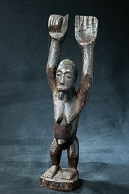 Dogon Tellem Figure, Burkina Faso, African Tribal Sculpture