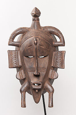 Senufo Kpeliyee  Mask, Northern Ivory Coast, African Tribal Arts, African