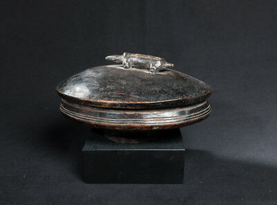 Lozi Zoomorphic Food Bowl, Zambia, African Tribal Arts, Domestic Artifacts