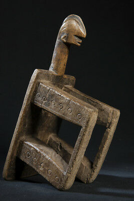 Bwa Anthropomorphic Woman's Stool, Burkina Faso, Mali.