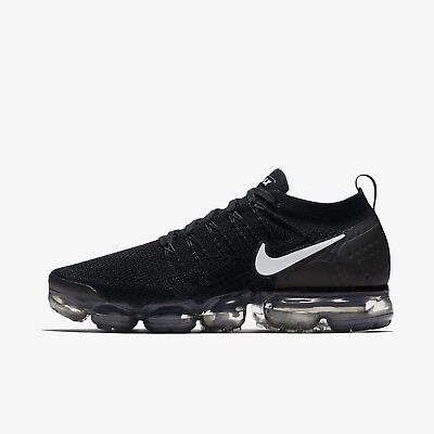 ebbdef1005ff ... order nike air vapormax flyknit 2 mens running shoes 942842 001 black  white 41f6e fc82d