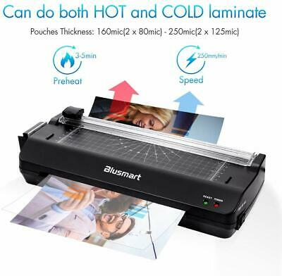 3 in 1 OL288 Laminator Set Laminating Machine Rotary Paper Trimmer Cutter Office