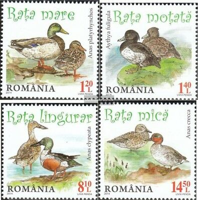 Romania 6803-6806 (complete.issue.) unmounted mint / never hinged 2014 Ducks