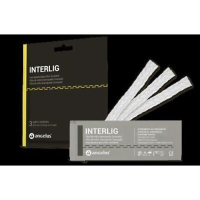 ANGELUS INTERLIG Dental Glass Fiber Splint impregnated Light  free shipping
