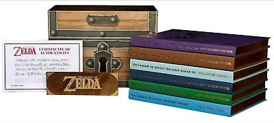The Legend of Zelda - Limited Edition Collectors Guide Book Box - Lösungsbuch