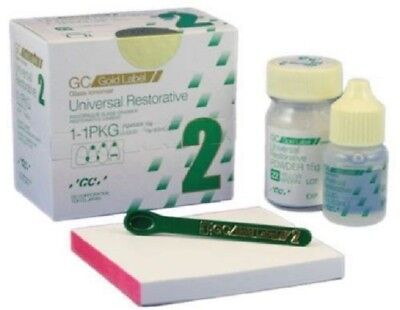 GC fuji II Restorative Glass Ionomer Cement free shipping