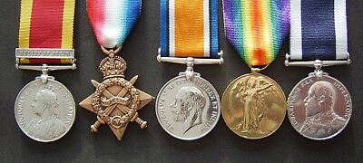 MEDALS CHINA, WW1, LSGC RN + 1 & copies of records