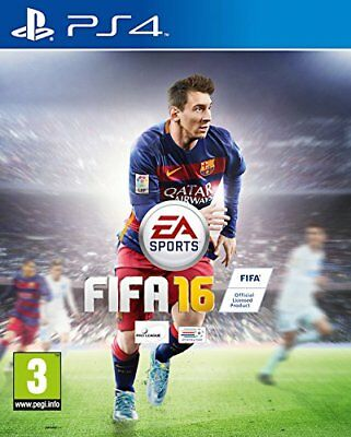 PS4 Game Fifa 16 Fifa Football 2016 for Sony PLAYSTATION 4 New
